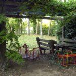 giardino agriturismo alle valli in provincia di padova